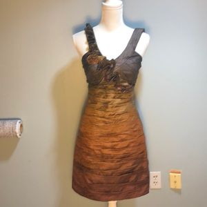 Max & Cleo Bronze Dress, 4